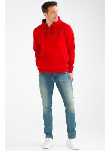 Speedlife Suffocate Erkek Sweatshirt Kırmızı